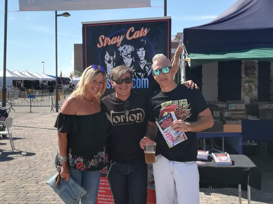 STRAY CATS STORY ON TOUR! HDC 843 ROCKIN´ FEST 2018
